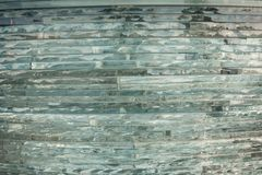 Texture glass. Mosaic. The composition of the glass royalty free stock photos