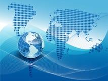 Texture globe Stock Photography