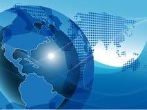Texture Globe Stock Photo