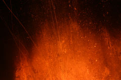 Texture with a glow from a fireplace royalty free stock photo