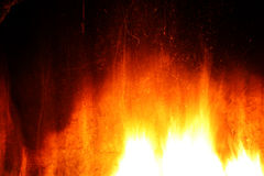 Texture with a glow from a fireplace Royalty Free Stock Images