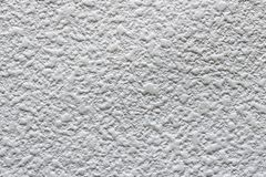 Texture gnarled of gypsum board sheet white color. Royalty Free Stock Image