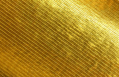Texture of the gold Stock Images