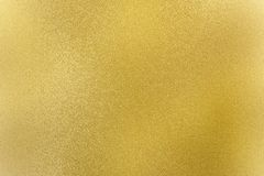 Texture of gold brushed metallic plate, abstract background royalty free stock images