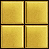 Texture of gold bullion or modern tile, abstract background stock photos