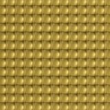 Texture of gold cubes Royalty Free Stock Images