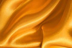 Texture gold satin Stock Image