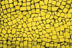 Texture of golden asymmetric tiles Stock Photography