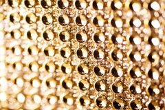 Texture of golden jewels for background Royalty Free Stock Images