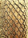 Texture on golden metal for designer royalty free stock photo