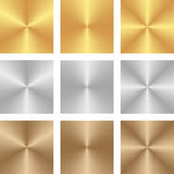 Texture. Golden, silver and brown texture - vector illustration Stock Photos