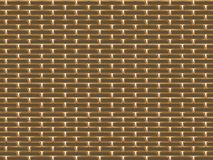 Texture of golden wall Stock Images