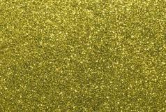 Texture golden yellow glitter bright sparkling Stock Photos