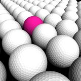 Texture Golf balls Stock Photo