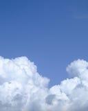Texture gonflée de nuage Photos stock