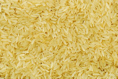 Texture from grains of rice. Closeup background Royalty Free Stock Photography