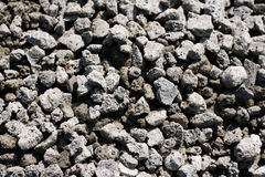 Texture of granite grey rubble Stock Photo