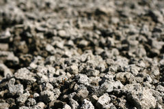 Texture of granite grey rubble Stock Photos