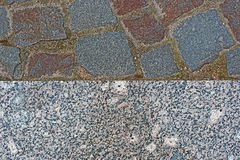 Texture of granite and pavers royalty free stock images