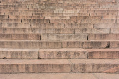Texture of granite staircase Royalty Free Stock Image