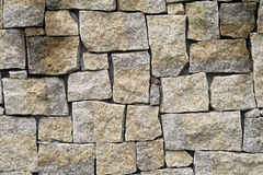 Texture of granite wall Royalty Free Stock Photo