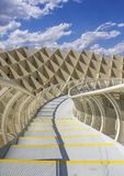Texture graphic detail of Metropol Parasol Stock Images