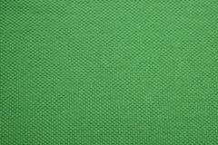 The texture of a grass green cotton cloth Stock Photos