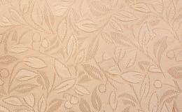 Texture gravée en relief de tissu Photos stock