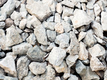 Texture of a gravel aggregate seamless Royalty Free Stock Image