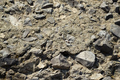The texture of gravel Royalty Free Stock Image