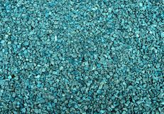 A texture of a gravel road stock image