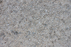 Texture of gravel road Royalty Free Stock Photos