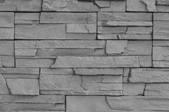 Texture of gray brick wall background. Royalty Free Stock Photos