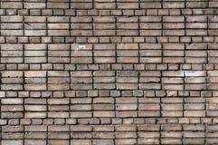 Texture of gray brick wall Royalty Free Stock Photography