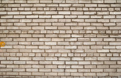 Texture of gray brick wall Royalty Free Stock Photography