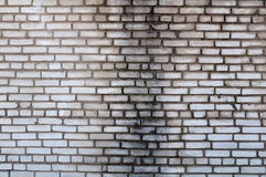 Texture of gray brick wall Stock Photography