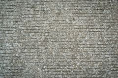 Texture on gray cement road Royalty Free Stock Photo