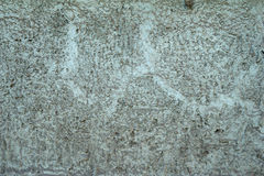 Texture of gray cement wall with relief Stock Images