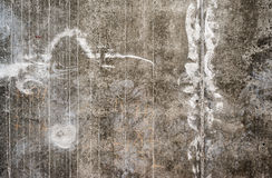 Texture of the gray concrete wall Royalty Free Stock Image