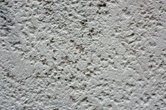 Texture. The gray concrete wall in the city Stock Images