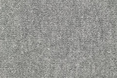 Texture of gray heat retaining fleece textile Royalty Free Stock Photography