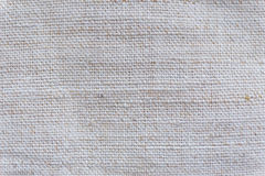 Texture of gray linen cloth Royalty Free Stock Photography
