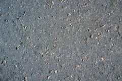 Texture of a gray road asphalt stock images
