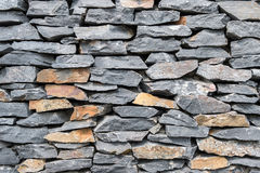 Texture of gray rock wall Royalty Free Stock Images