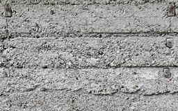 Texture of gray rough concrete wall Royalty Free Stock Photo
