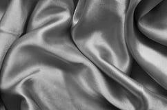 Texture gray satin Stock Image