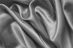 Texture gray satin Royalty Free Stock Images