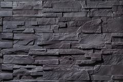 Texture of gray stone wall royalty free stock images