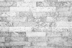 Texture of gray stone wall with decorative tiling Stock Photo