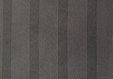 Texture of gray striped fabric Stock Photography